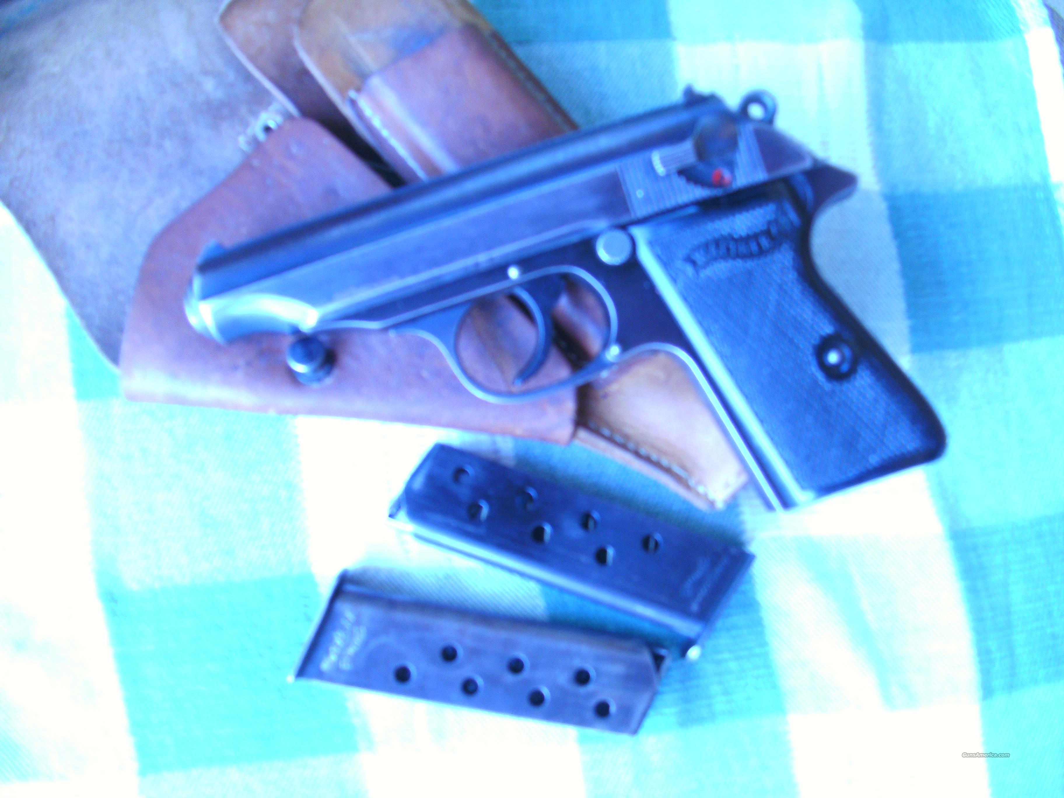 GI Factory Captured Wather pp rig  Guns > Pistols > Walther Pistols > Pre-1945 > PP