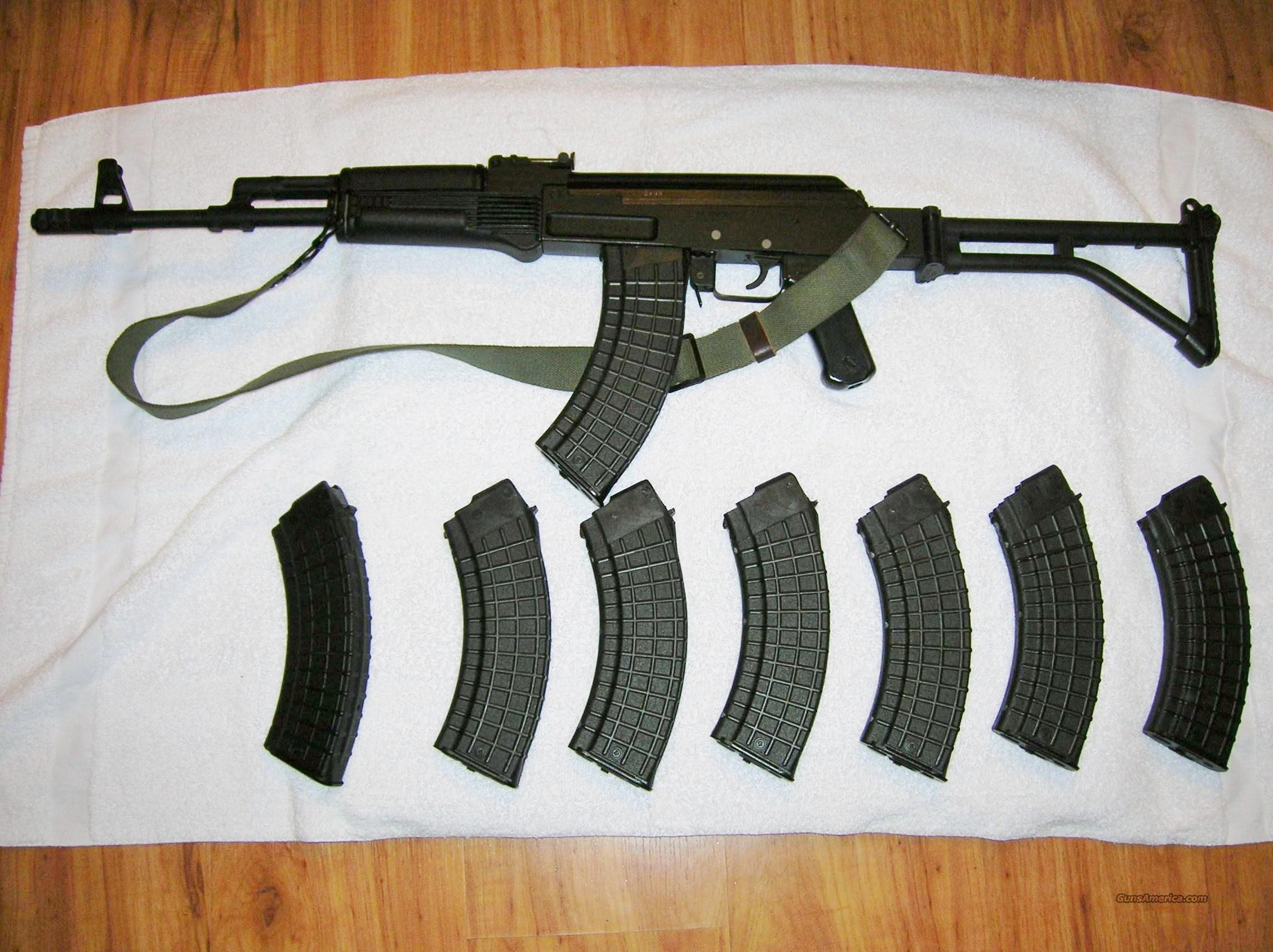 New Milled Bulgarian SLR-95 MB semi-automatic AK-47 by Arsenal & New BULGARIAN Clips  Guns > Rifles > AK-47 Rifles (and copies) > Folding Stock