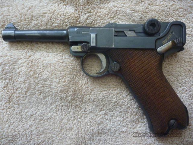 1918 DWM WWI Luger Pistol **ALL** Matching Including Magazine  Guns > Pistols > Luger Pistols