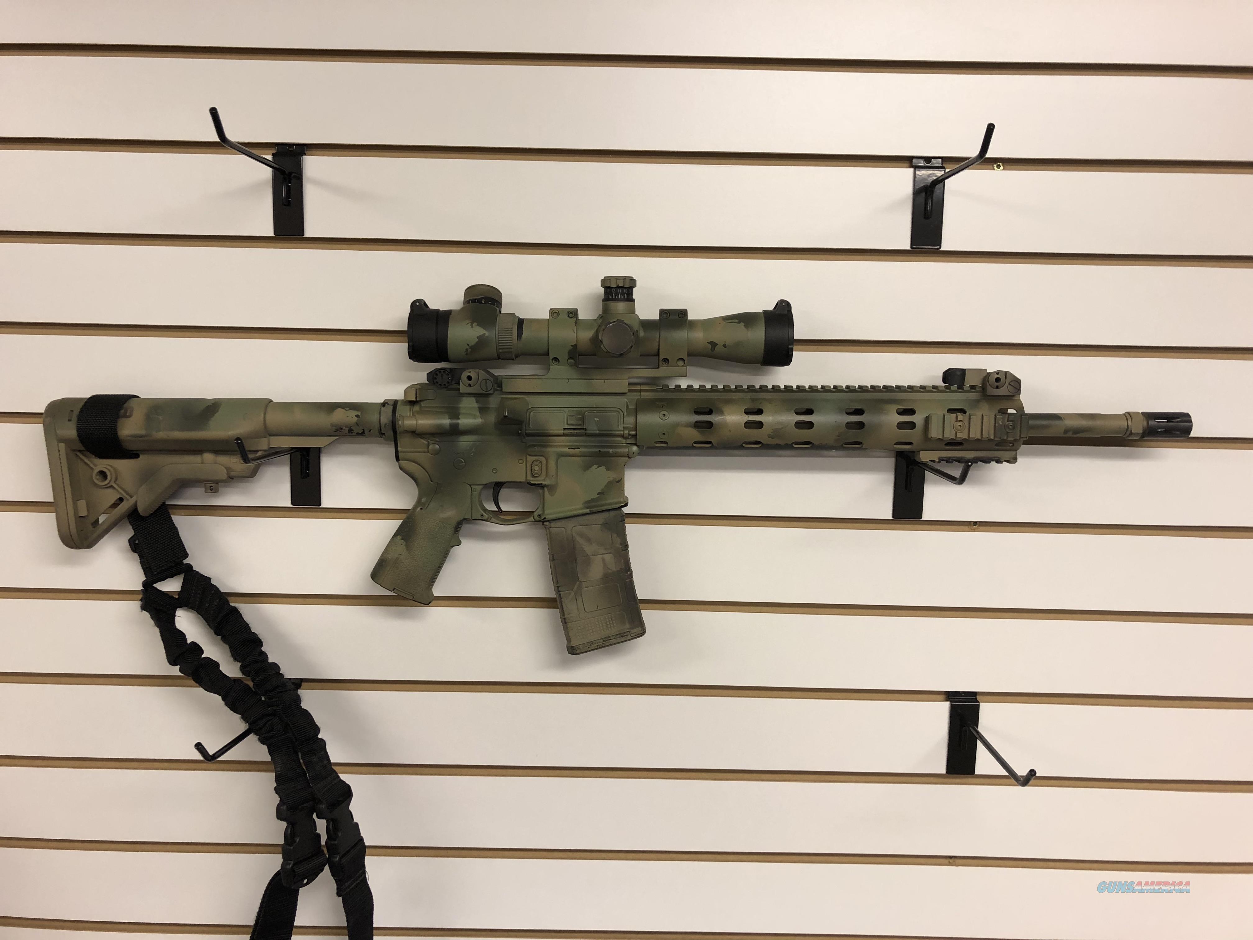 "Daniel Defense DDM4 V7 223/5.56 16"" W/ Leupold Mark 4  Guns > Rifles > Daniel Defense > Complete Rifles"