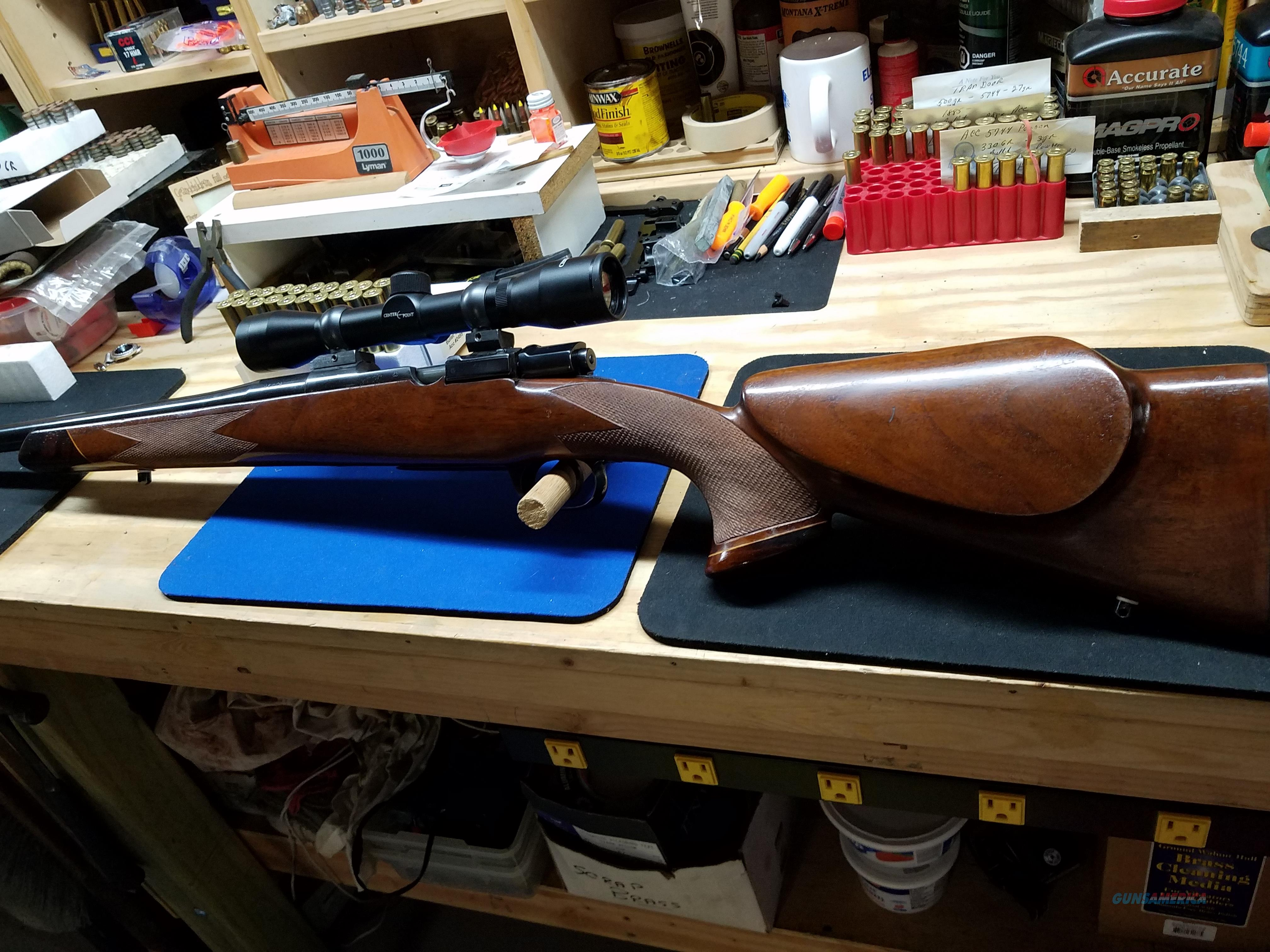 CUSTOM SIAMESE MAUSER - 45-70 - MCGOWEN BARREL  Guns > Rifles > Mauser Rifles > German