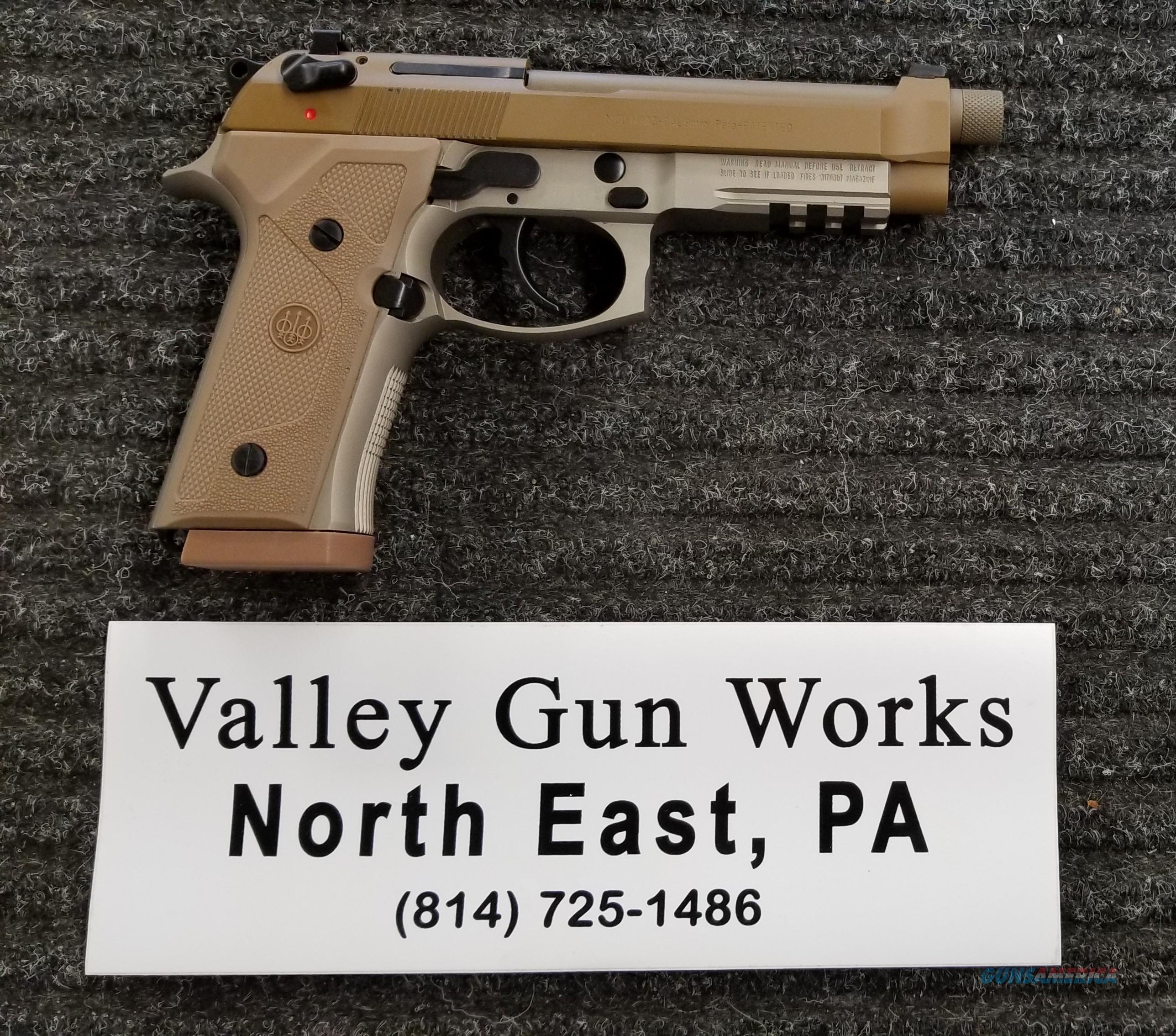 Beretta M9A3 - 9mm - Complete Kit - Threaded - Free Shipping  Guns > Pistols > Beretta Pistols > M9