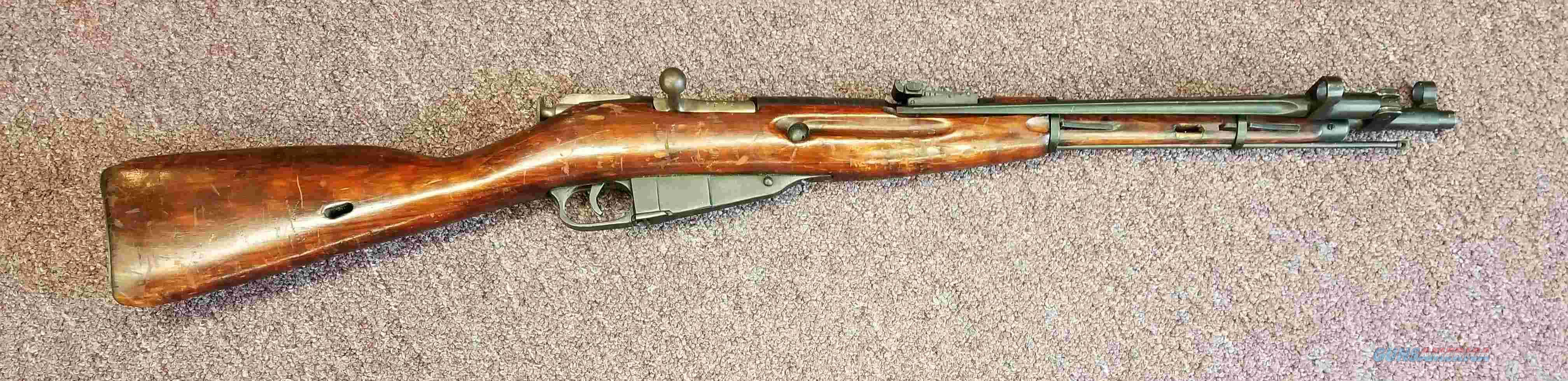 Russian M44 - Mosin - 7.62X54R - Free Shipping  Guns > Rifles > Military Misc. Rifles Non-US > Other
