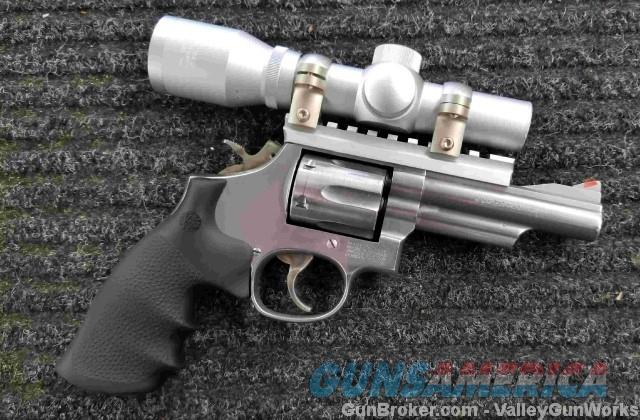 "Smith & Wesson 66-4 - 357 Mag - Optics - 4""  Guns > Pistols > Smith & Wesson Revolvers > Med. Frame ( K/L )"