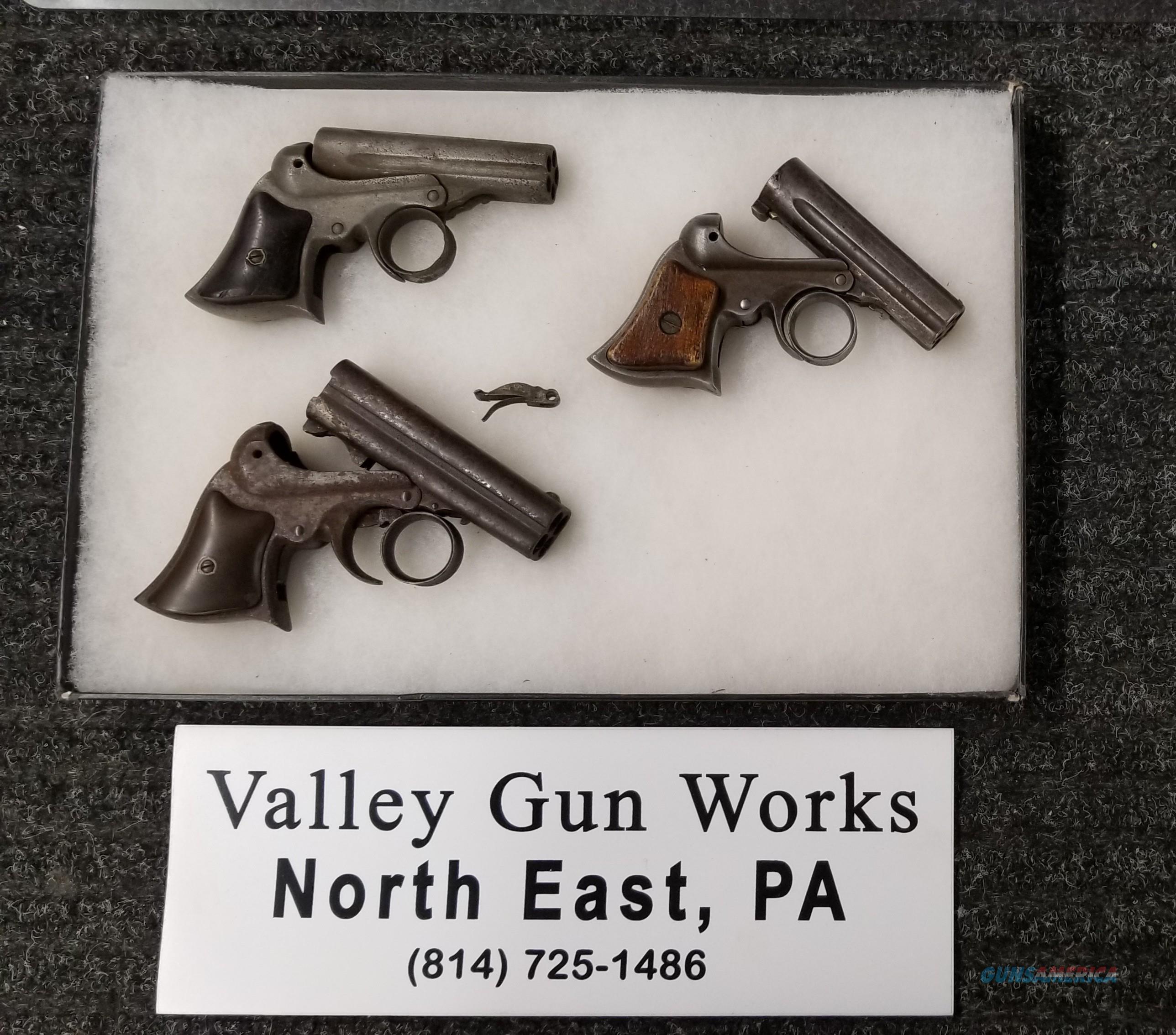 Remington Elliot Pistols - Three - 22 & 32 Rimfire - No FFL Needed -  Free Shipping  Non-Guns > Black Powder Cartridge
