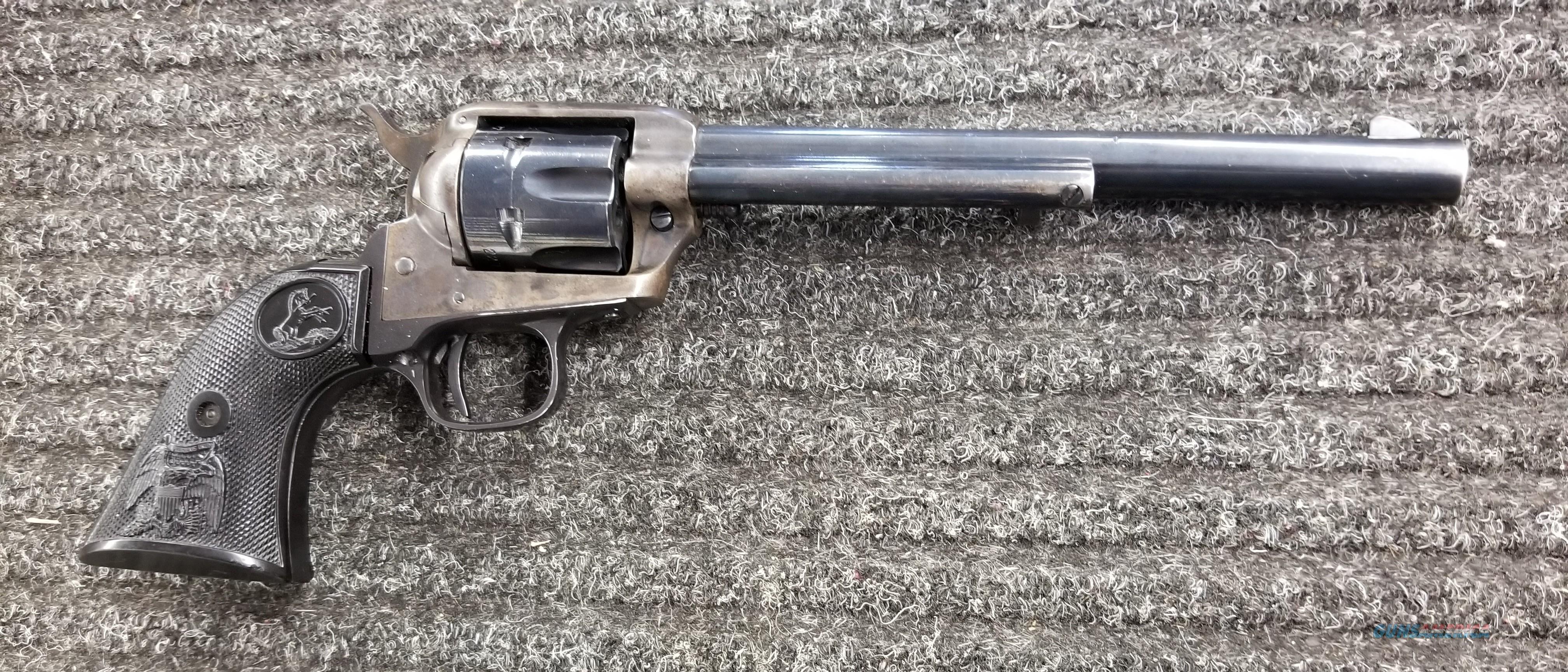 Colt Buntline Peacemaker 22LR Revolver  -  Free Shipping  Guns > Pistols > Colt Single Action Revolvers - Modern (22 Cal.)