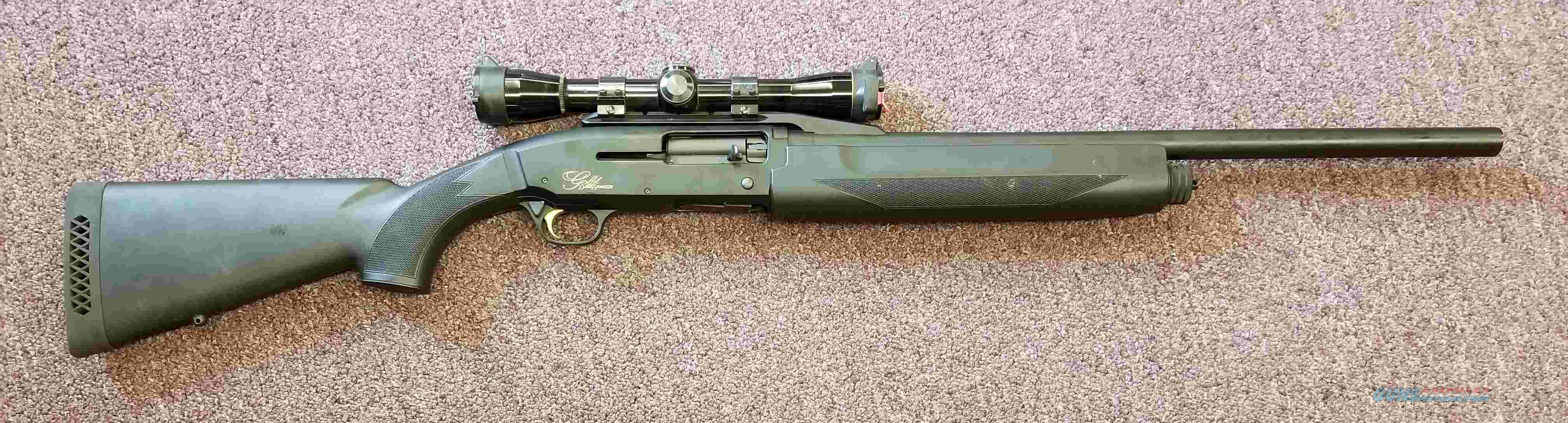 Browning Gold Deer Hunter - 12 Gauge - Semi Auto - Leupold 4X - FREE SHIPPING !!!  Guns > Shotguns > Browning Shotguns > Autoloaders > Hunting