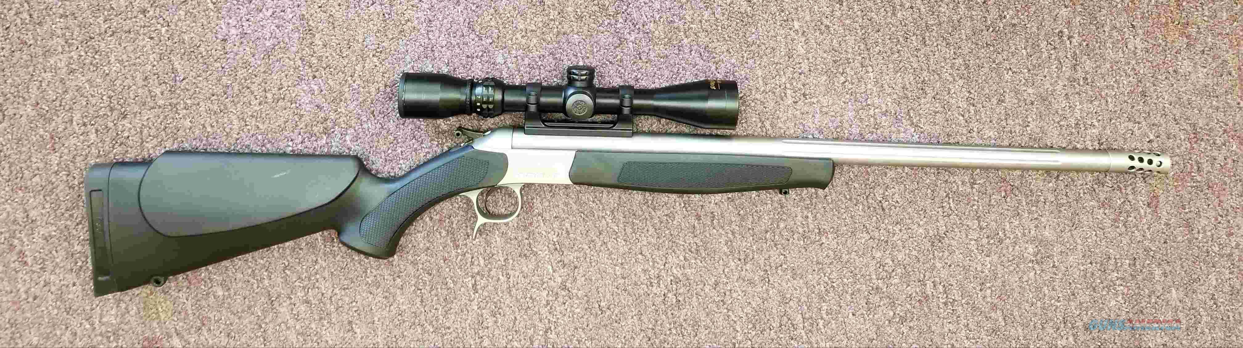 CVA Scout 45/70 - Optics - Muzzle Brake - Free Shipping !!  Guns > Rifles > C Misc Rifles