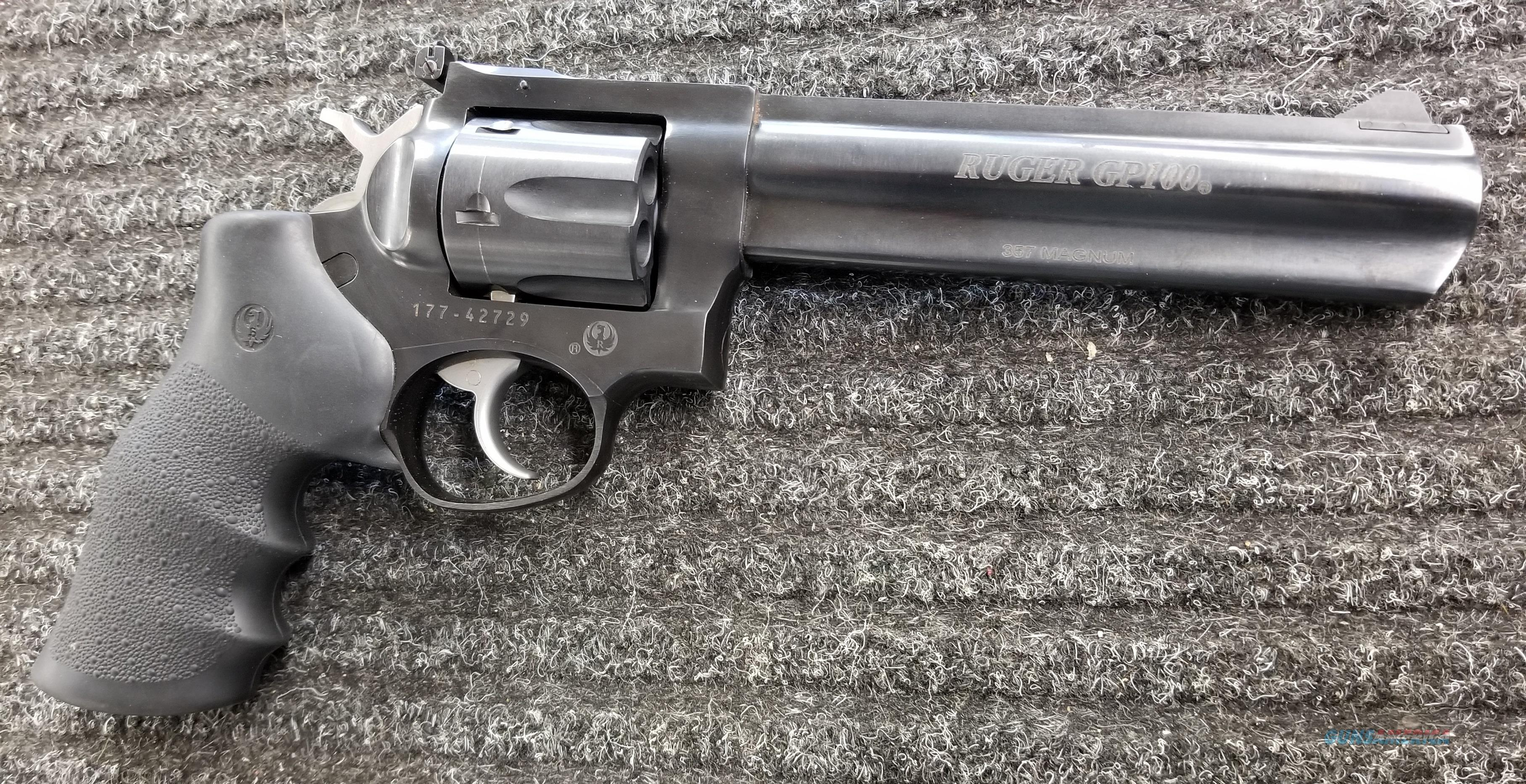"Ruger GP100 357 Magnum 6"" - Free Shipping !!  Guns > Pistols > Ruger Double Action Revolver > GP100"