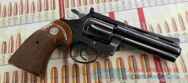 "Colt Diamondback 38 Special 4""  Guns > Pistols > Colt Double Action Revolvers- Modern"