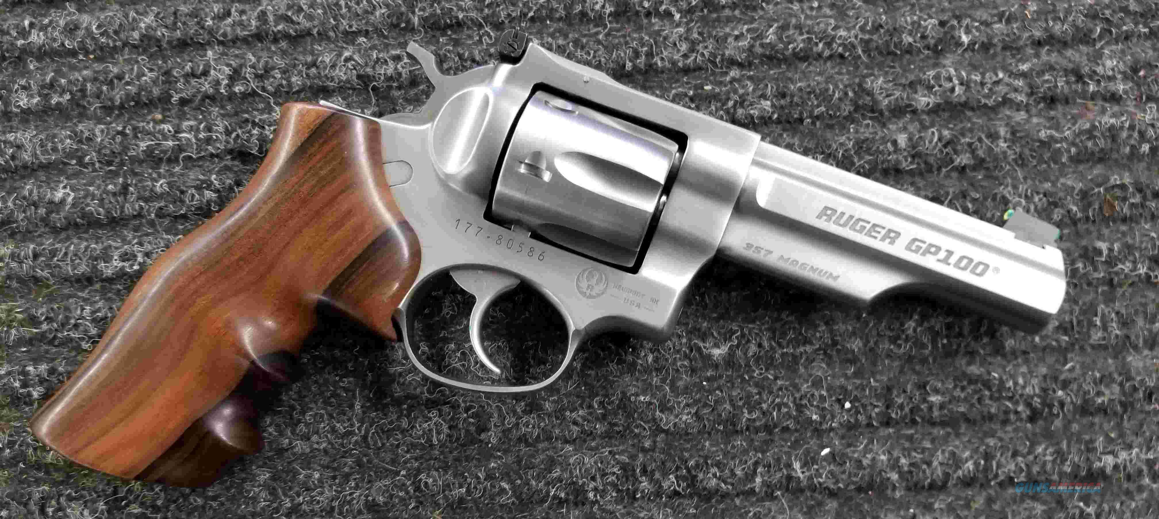 """Ruger GP100 Match Champion - 4"""" - 357 Magnum - Free Shipping !!  Guns > Pistols > Ruger Double Action Revolver > GP100"""