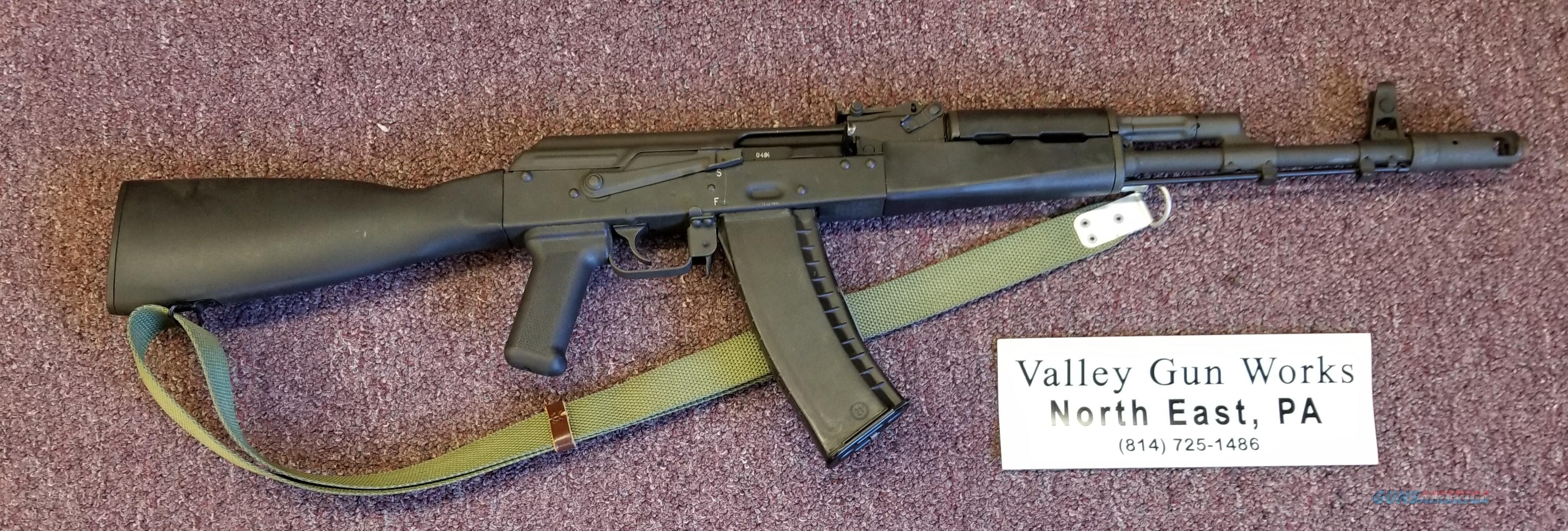 CAI  AK-74  5.45X39 - 3 Mags - Xtra New Barrel - Free Shipping  Guns > Rifles > Century International Arms - Rifles > Rifles