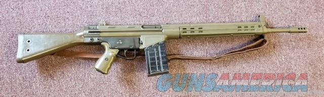 CAI CETME Sporter 308 Green - Muzzle Brake  Guns > Rifles > Century International Arms - Rifles > Rifles
