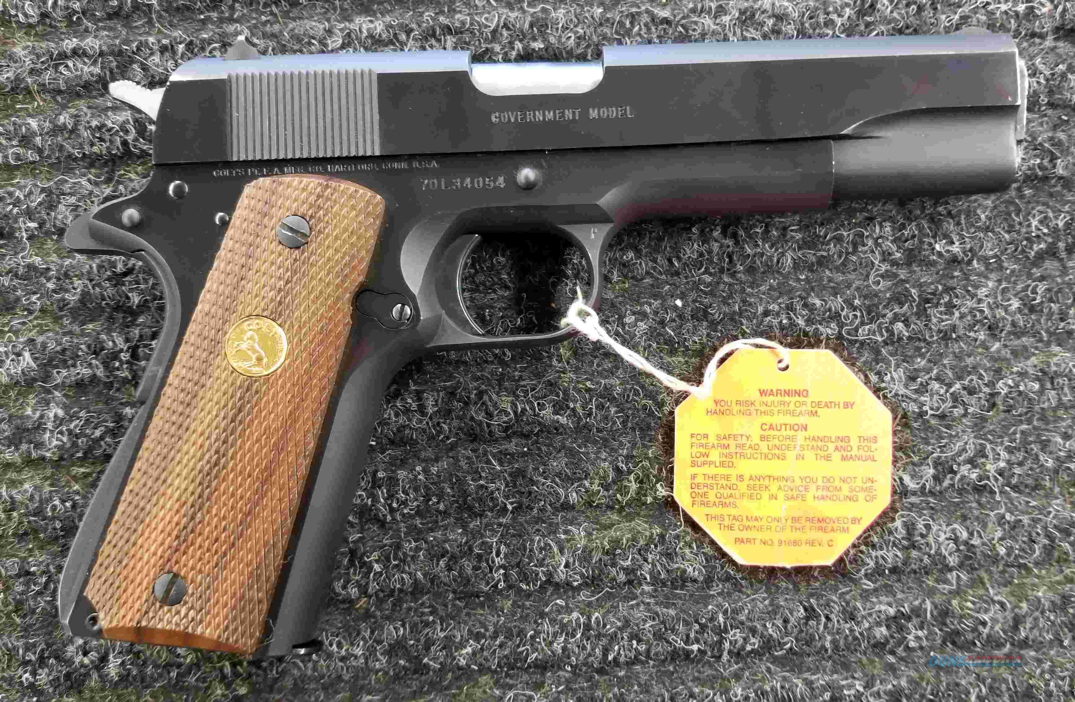 Colt Series 80 MKIV - 1911 - 45ACP - Free Shipping !!  Guns > Pistols > Colt Automatic Pistols (1911 & Var)