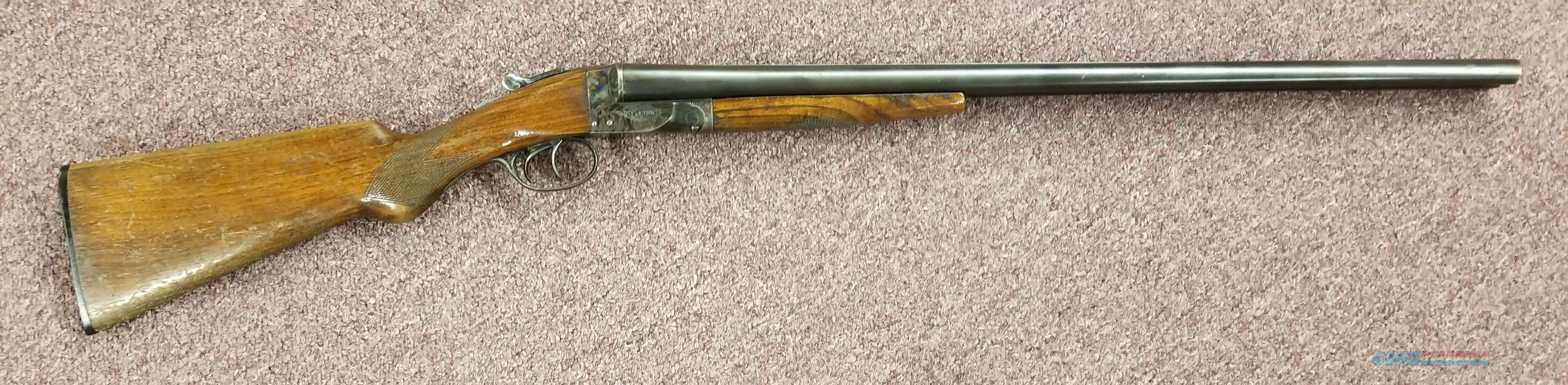 Hunter Arms - The Fulton - Double Barrel 12 Gauge - Free Shipping !  Guns > Shotguns > H Misc Shotguns