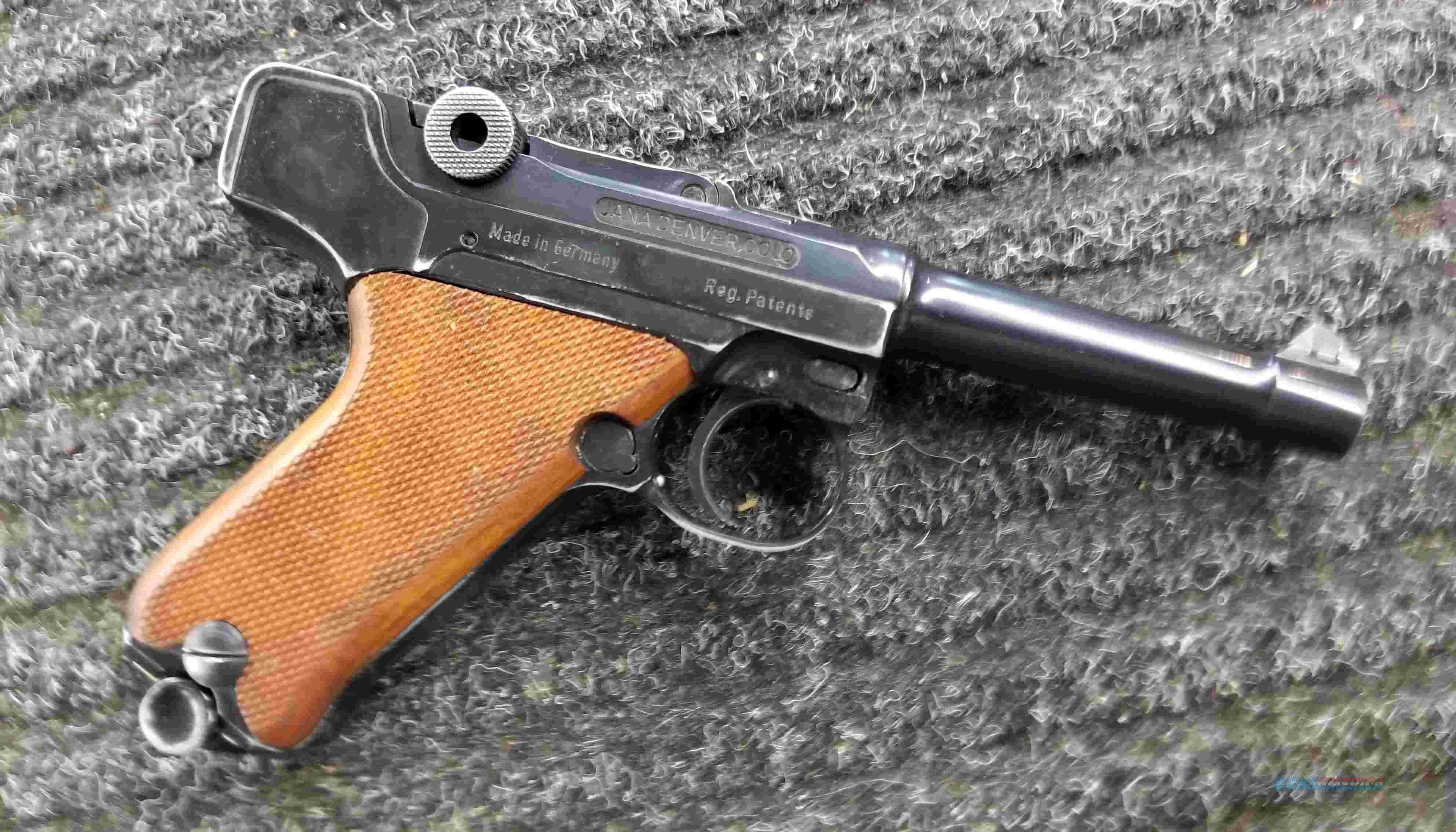 Erma Werke Baby Luger 380 ACP  Guns > Pistols > Erma/Erma Werke