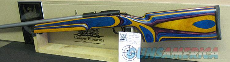 COOPER M57M TRP3 22LR IN GEMWOOD LAMINATED STOCK NIB!  Guns > Rifles > Cooper Arms Rifles