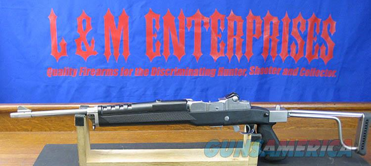 RUGER MINI-14 SEMI-AUTOMATIC RIFLE WITH BUTLER CREEK FOLDING STOCK & ORIGINAL WOOD STOCK. EXTRA MAGS. NEW  Guns > Rifles > Ruger Rifles > Mini-14 Type