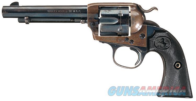 COLT SAA 1ST GENERATION BISLEY IN .32 WCF CALIBER & 5 1/2 INCH BARREL. 111 YEARS OLD!!  Guns > Pistols > Colt Single Action Revolvers - 1st Gen.