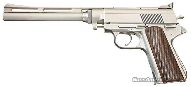 WILDEY SURVIVOR .45 WIN MAG WITH 10 INCH VENT-RIBBED BARREL, 1987 SURVIVOR MANUAL, EXTRA MAGAZINE, AND ORIGINAL FACTORY BOX WITH FOAM INSERTS !!  Guns > Pistols > Wildey Pistols