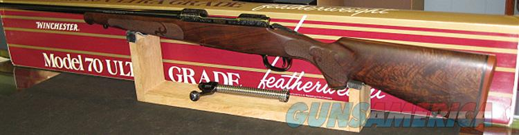 WINCHESTER M70 1 OF 1000 ULTRA GRADE IN .270 WIN. NEW IN BOXES.  Guns > Rifles > Winchester Rifles - Modern Bolt/Auto/Single > Model 70 > Post-64