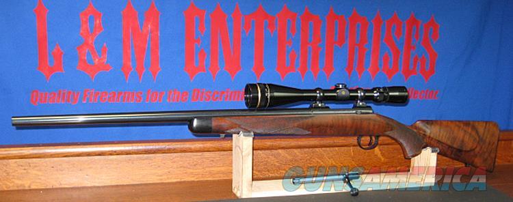 COOPER MODEL 21 CUSTOM CLASSIC  .223 REM WITH SKELETON GRIP CAP & BUTT PLATE!!.   Guns > Rifles > Cooper Arms Rifles