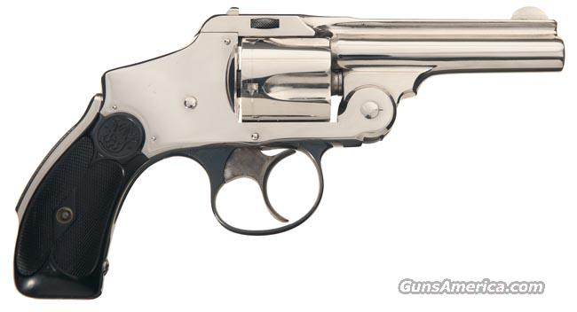 "S&W .38 SAFETY HAMMERLESS, NEW DEPARTURE, 1ST MODEL, 1ST YEAR PRODUCTION FROM 1887 !! SINGLE DIGIT SN = ""6"" !!  Guns > Pistols > Smith & Wesson Revolvers > Pre-1899"