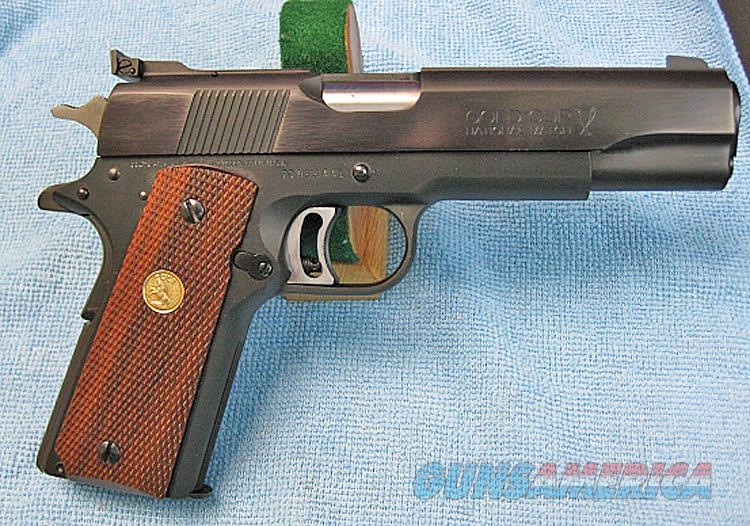 COLT GOLD CUP NATIONAL MATCH MARK IV/SERIES 70 .45 ACP from 1978  Guns > Pistols > Colt Automatic Pistols (1911 & Var)