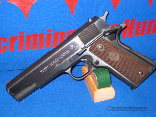 COLT M1911AI .45 CALIBER GOVERNMENT WITH RARE BARREL BUSHING (BB) TRANSITION FEATURE !  Guns > Pistols > Colt Automatic Pistols (1911 & Var)