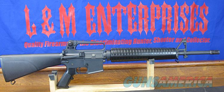 SCARCE !!  COLT PREBAN GREEN LABEL R6600 AR15A2 HBAR SPORTER IN .223 REMINGTON WITH FULL FIXED STOCK AND 20 INCH BARREL AND A2 FLASH HIDER.  Guns > Rifles > Colt Military/Tactical Rifles