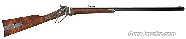 BEAUTIFUL SHILOH SHARPS M1874 BUSINESS RIFLE IN .45-90 WITH UPGRADES AND CUSTOM CABINETRY  Guns > Rifles > Sharps Rifles - Replica