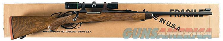 KIMBER OF OREGON M89 BIG GAME RIFLE SUPER GRADE IN CALIBER .375 H & H. ENGLISH WALNUT. QUARTER RIB SIGHTS. NIB !!  Guns > Rifles > Kimber of Oregon Rifles