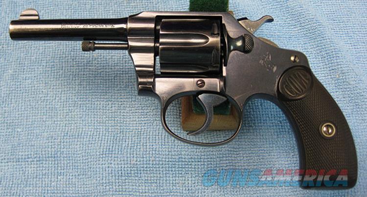COLT POCKET POSITIVE  .32 POLICE FROM 1908  Guns > Pistols > Colt Double Action Revolvers- Pre-1945