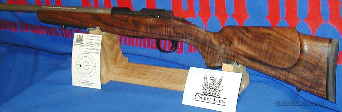 COOPER M57M JACKSON SQUIRREL RIFLE IN .22WMR  SN 7822   Guns > Rifles > Cooper Arms Rifles