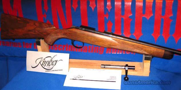 RARE KIMBER OF OREGON DELUXE M82 LEFT HANDED .22LR  Guns > Rifles > Kimber of Oregon Rifles