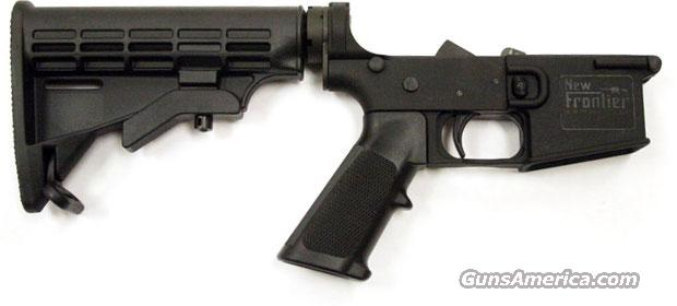 NEW FRONTIER COMPLETE AR-15 LOWER WITH 6 POSITION STOCK  Guns > Rifles > AR-15 Rifles - Small Manufacturers > Lower Only
