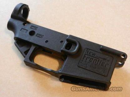 New Frontier Armory Stripped Lower Receiver  Guns > Rifles > AR-15 Rifles - Small Manufacturers > Lower Only