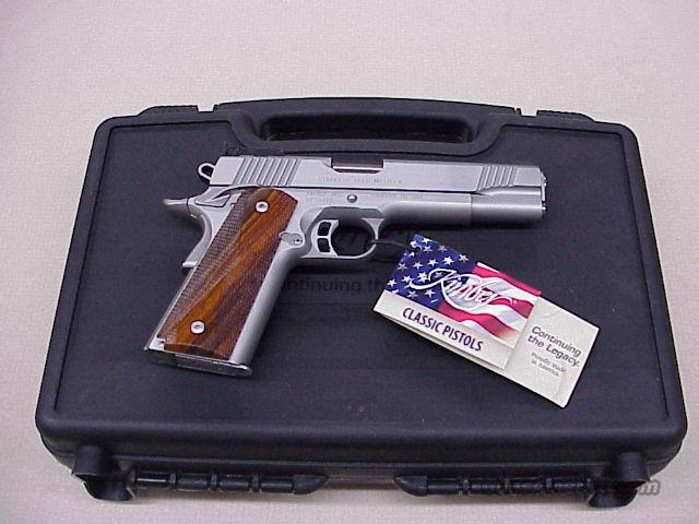 Kimber Gold Match Stainless II 9mm NEW in the Box.  Guns > Pistols > Kimber of America Pistols