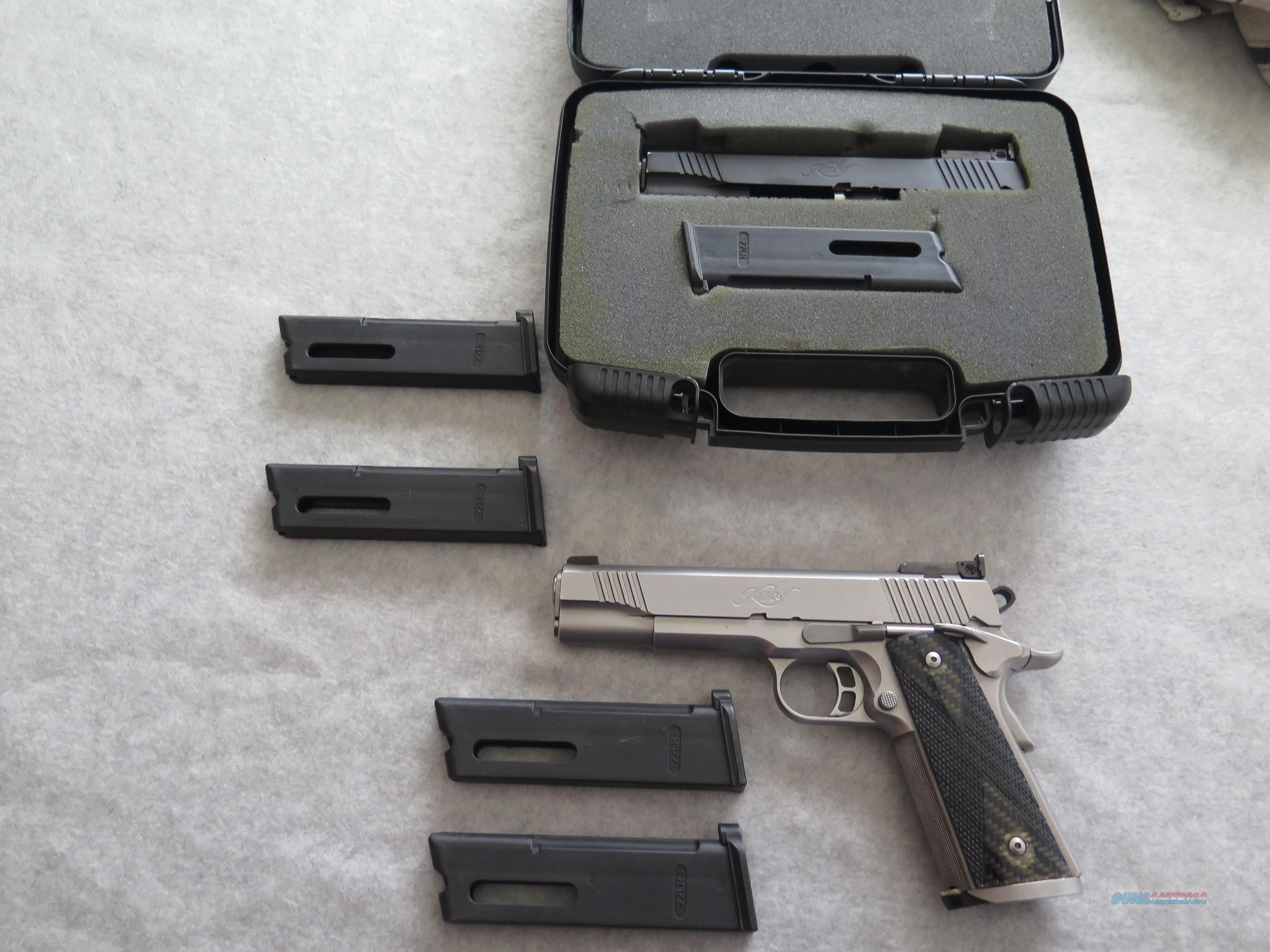Kimber Team Match II with .22LR conversion kit  Guns > Pistols > Kimber of America Pistols > 1911