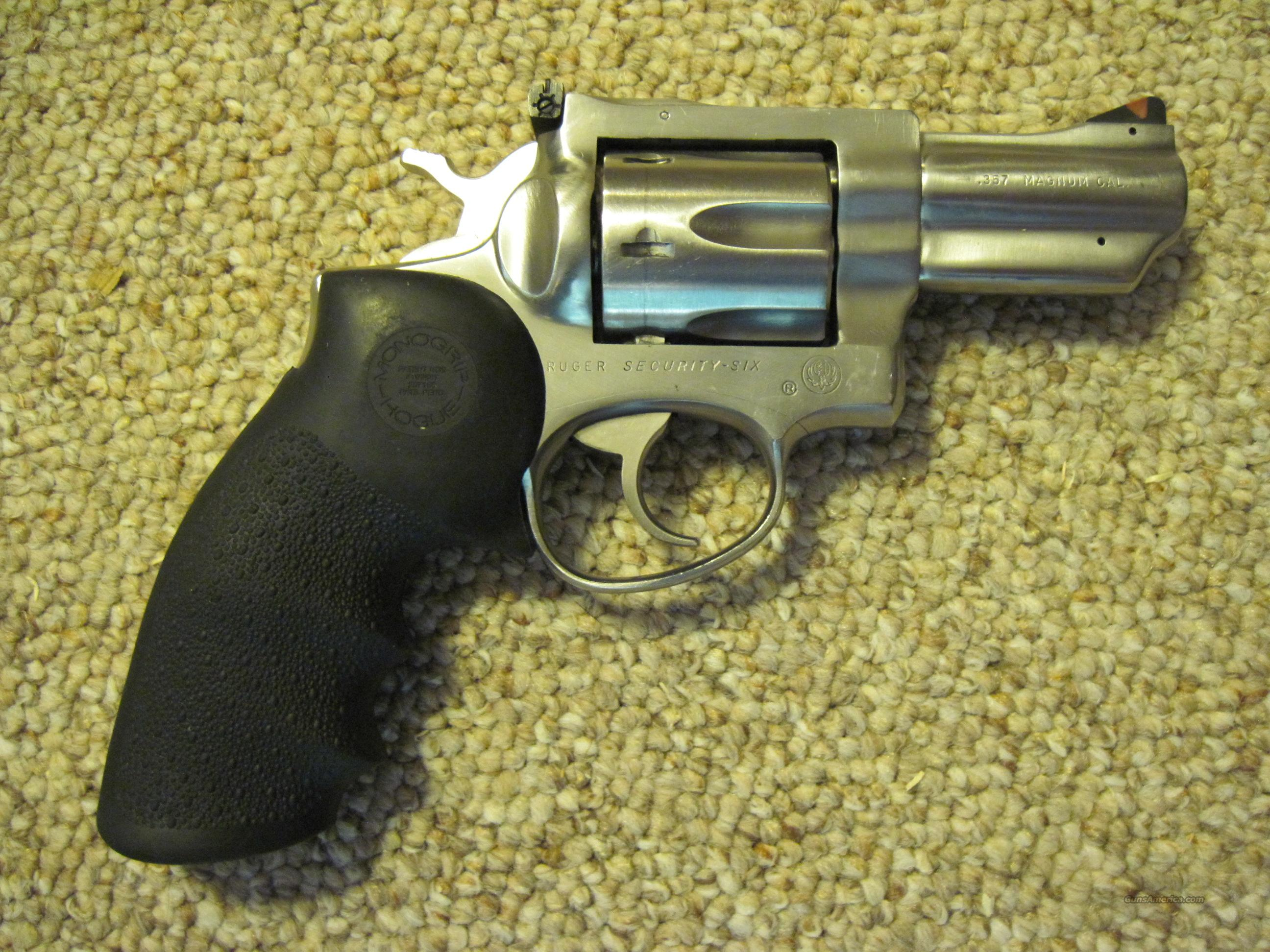Ruger Security Six .357 Stainless Snubnose  Guns > Pistols > Ruger Double Action Revolver > Security Six Type