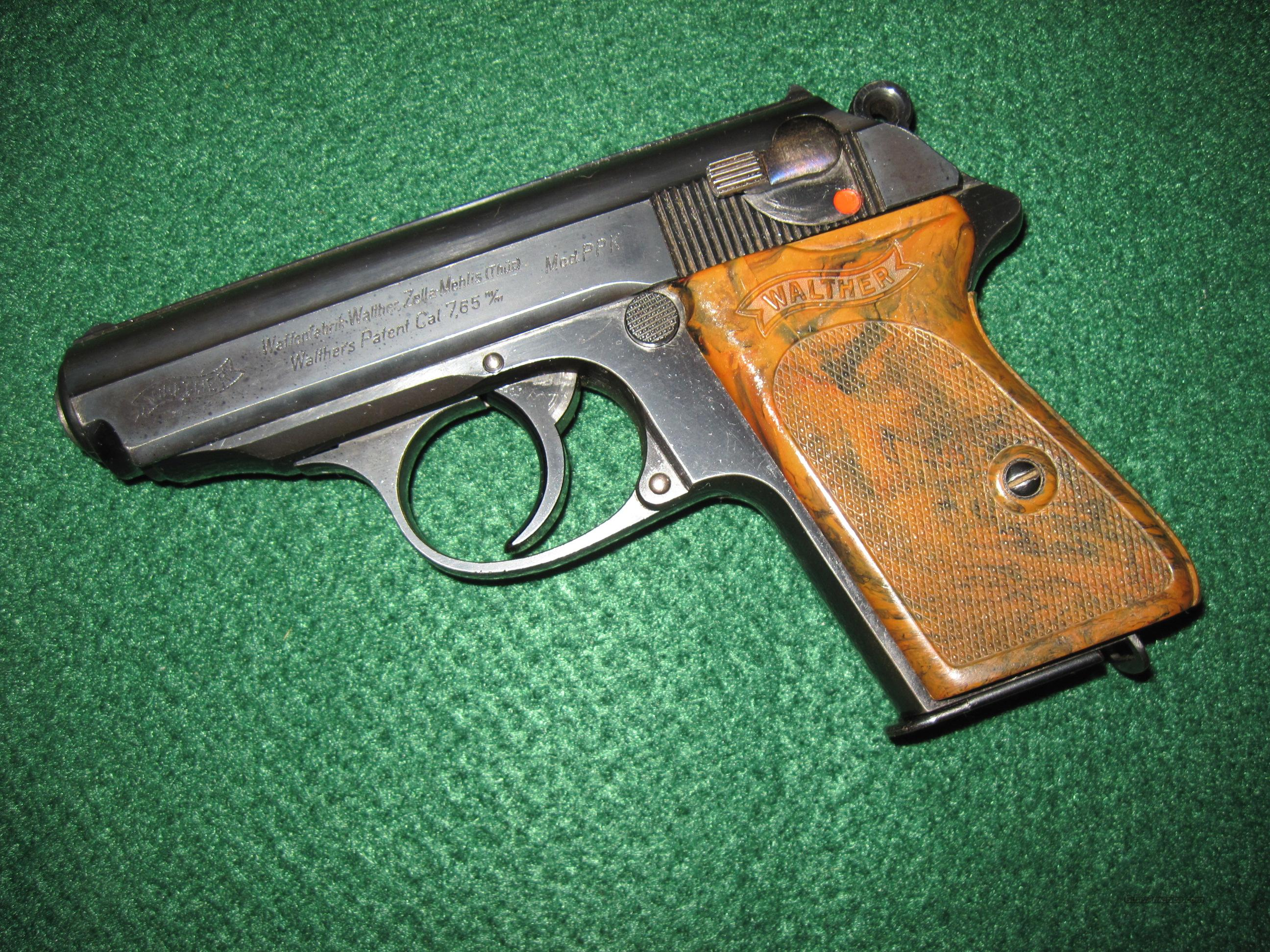 Walther PPK Pre-WWII Crown N Proof  Guns > Pistols > Walther Pistols > Pre-1945 > PPK