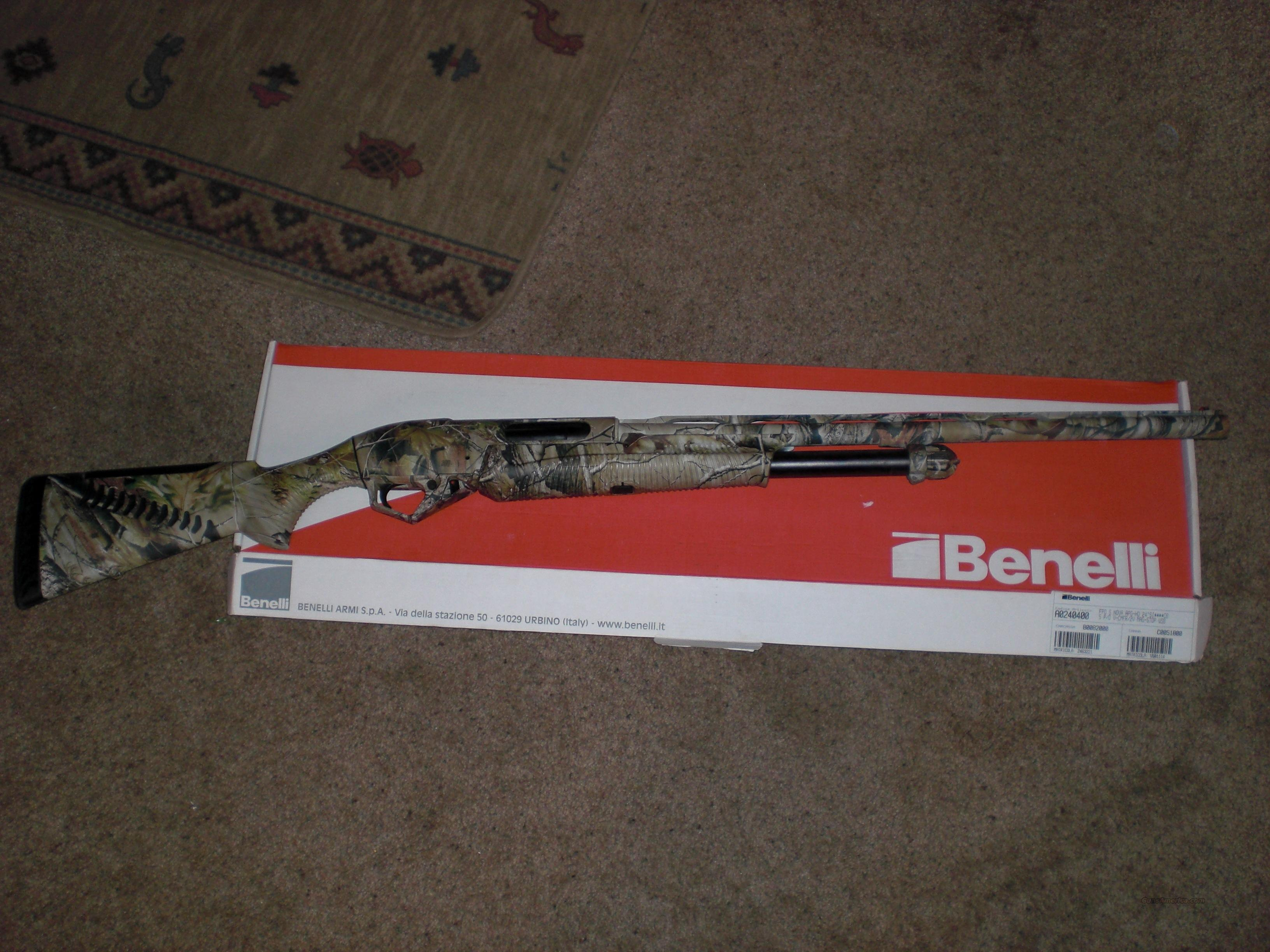 "Benelli SuperNova 12 gauge.  24"" Barrel. Realtree AP  Guns > Shotguns > Benelli Shotguns > Sporting"