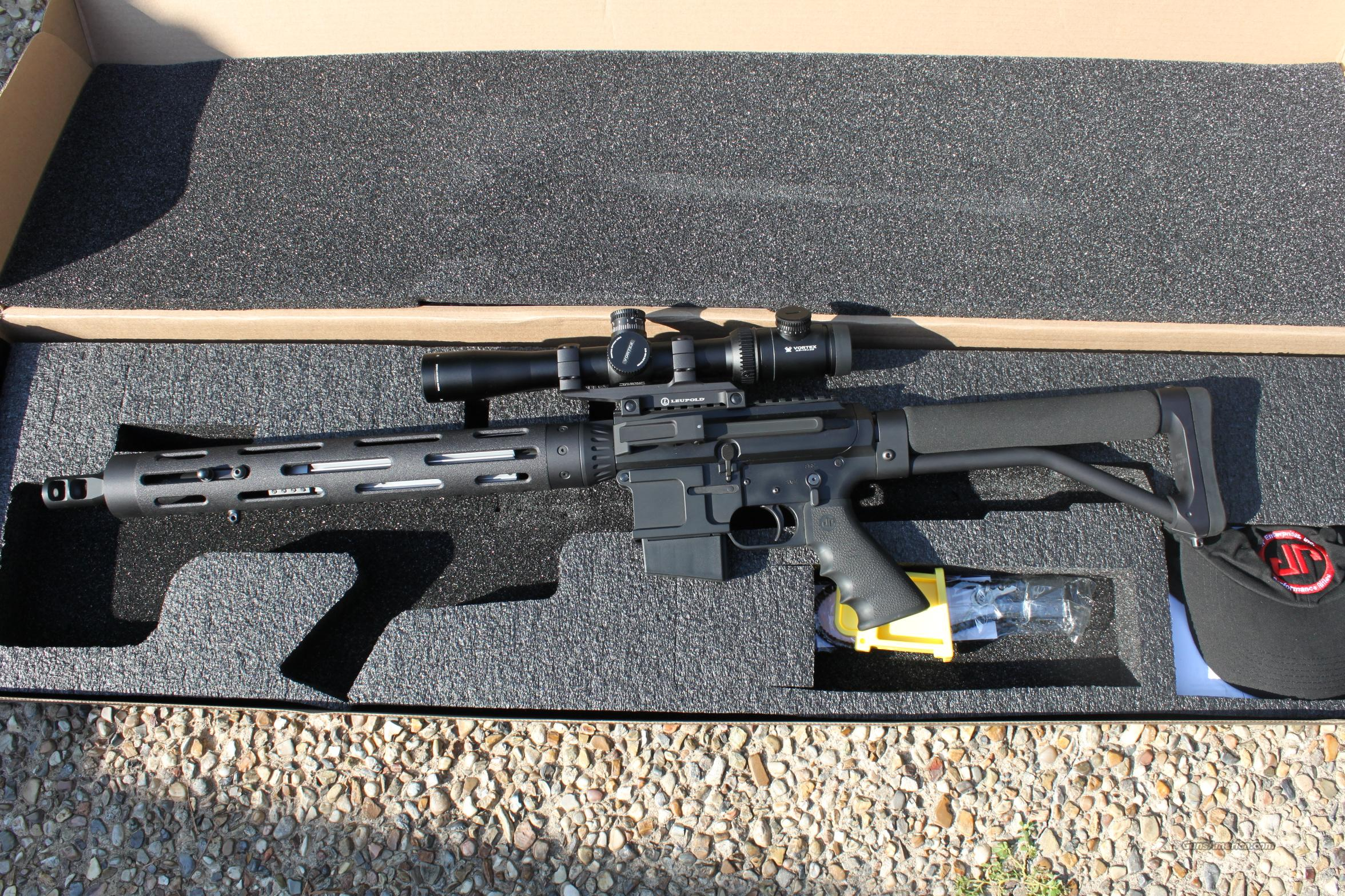 JP Enterprises SCR-11 .223/5.56 like new w/ accessories  Guns > Rifles > AR-15 Rifles - Small Manufacturers > Complete Rifle