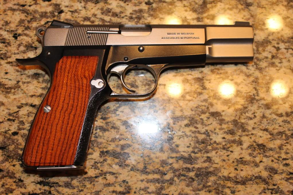 Robar Super Deluxe Custom Browning Hi Power 9mm  Guns > Pistols > Browning Pistols > Hi Power