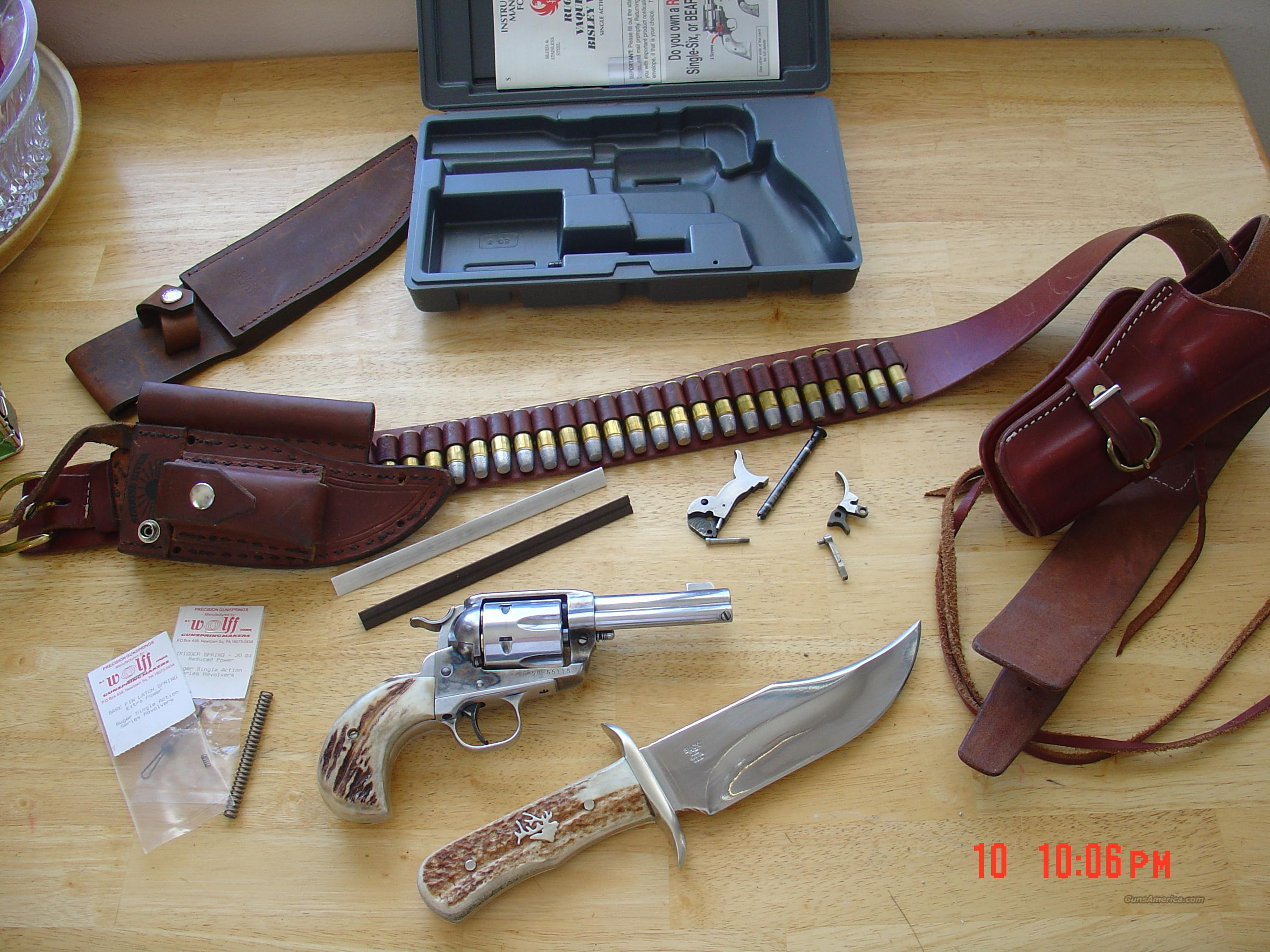 Custom ruger birdshead vaquero old style  Guns > Pistols > Ruger Single Action Revolvers > Single Six Type