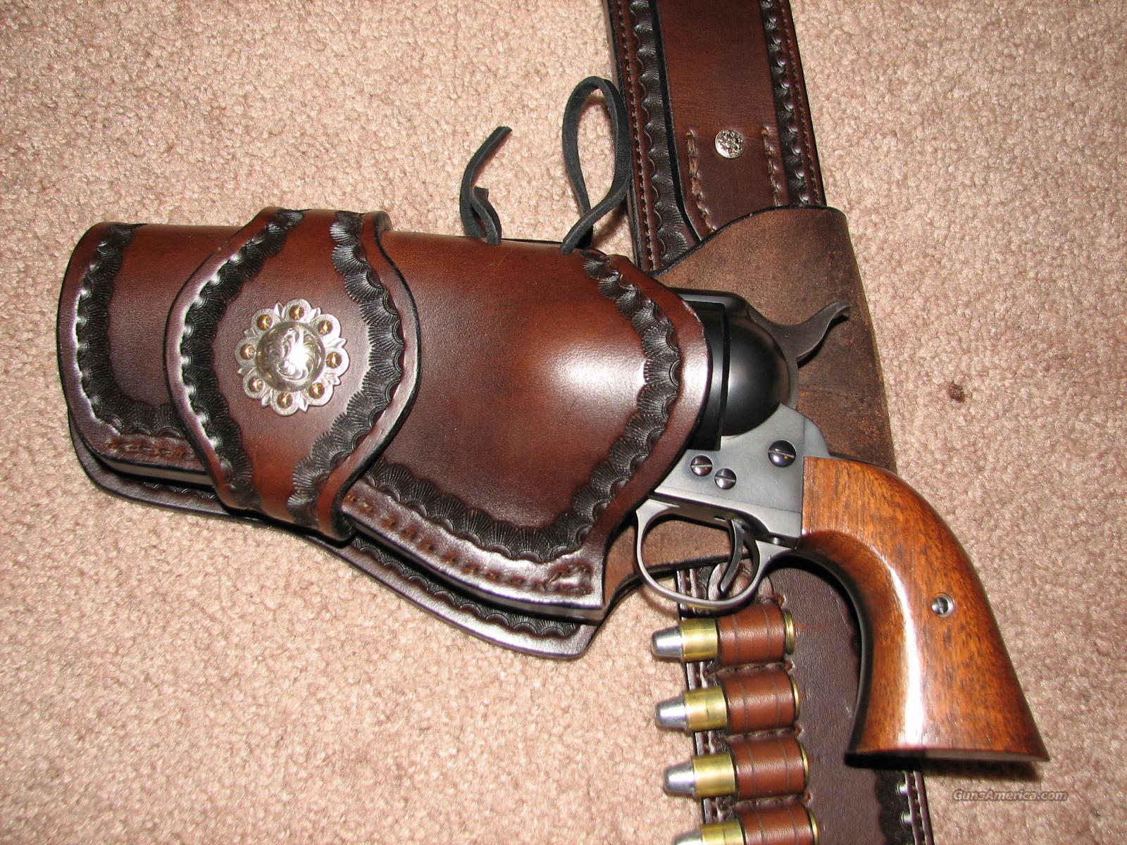 Dennis A. Yoder Leatherworks 'Boot Hill' Rig  Non-Guns > Holsters and Gunleather > Cowboy
