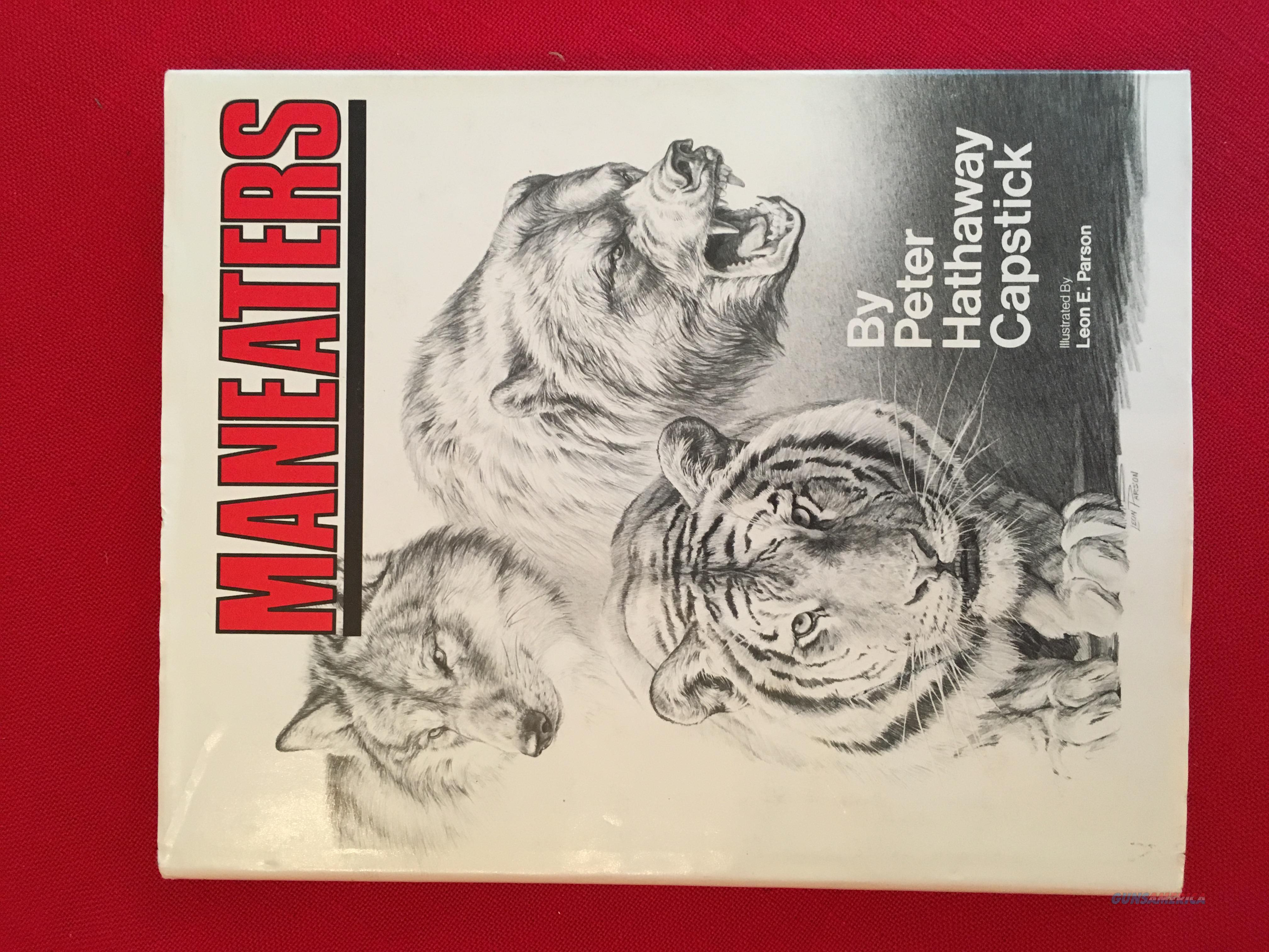 Maneaters by Peter Hathaway Capstick  Non-Guns > Books & Magazines