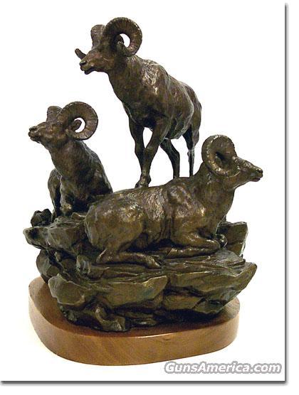 """Clark Bronson - Bronze Sculpture titled """"A Lofty View""""   Non-Guns > Artwork"""