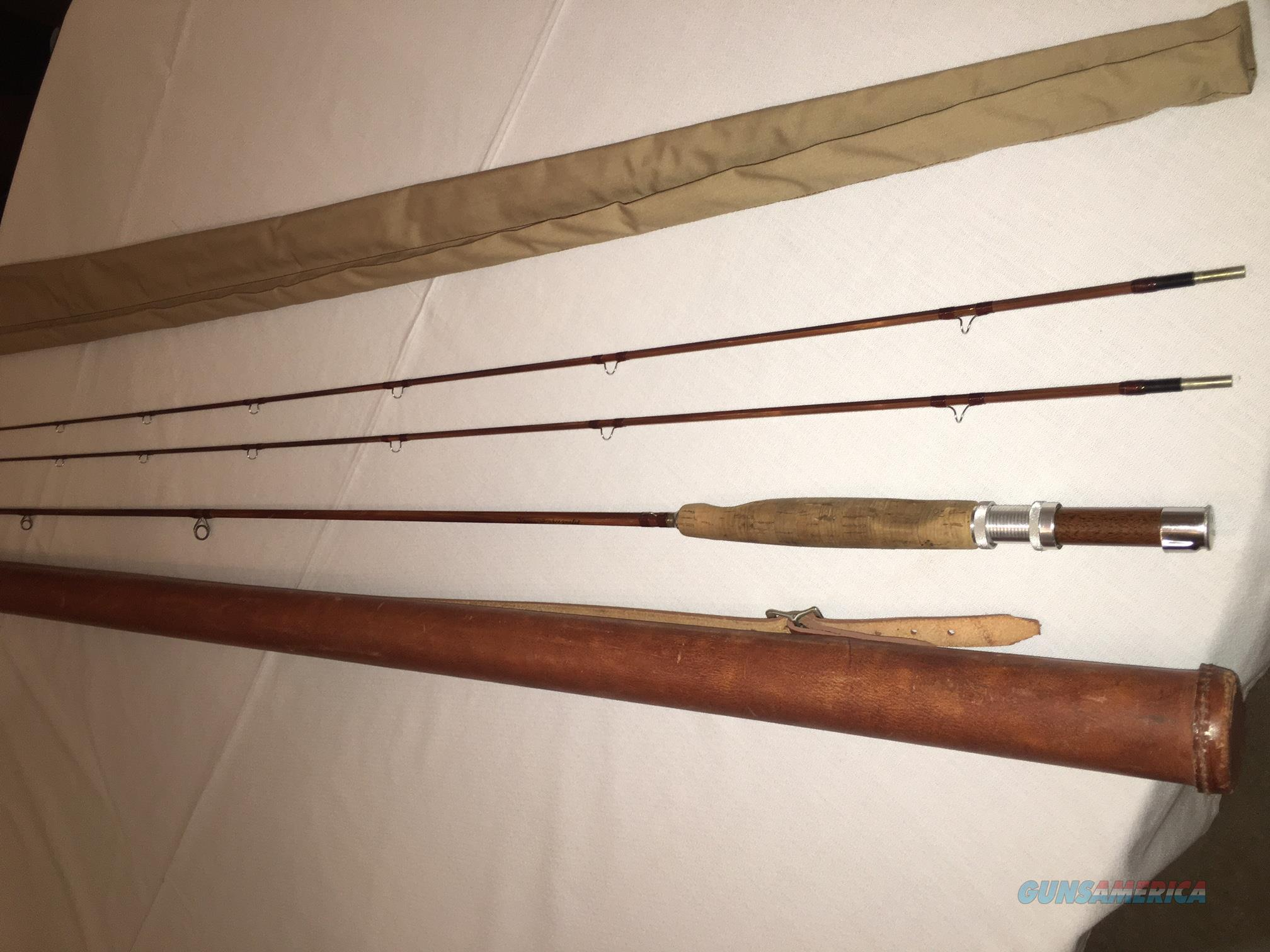 Vintage orvis wes jordan impregnated bamboo fly for sale for Vintage fishing rod identification