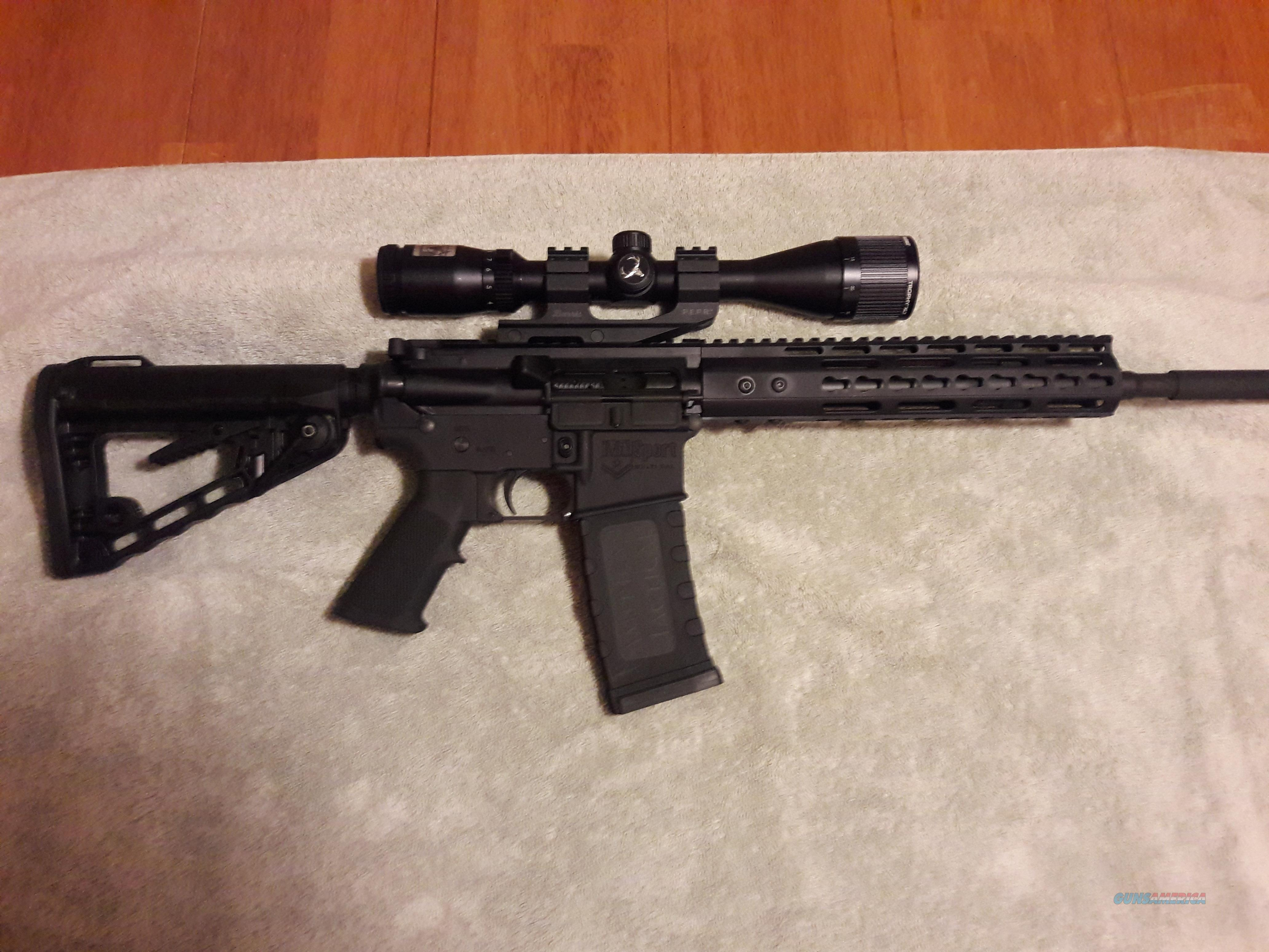 ATI AR15 Mil-Sport Quad Rail Carbine 556  Guns > Rifles > American Tactical Imports Rifles